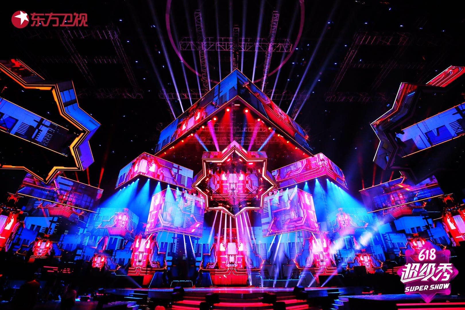 东方卫视苏宁易购618超级秀,惊艳空中之城刷新舞台定义